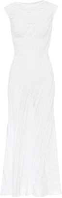 Alaia Banded midi dress