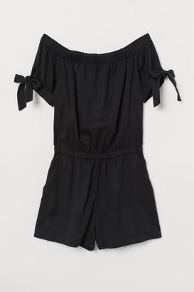 H&M Romper - Black