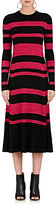 Proenza Schouler Women's Striped Wool-Blend Sweaterdress