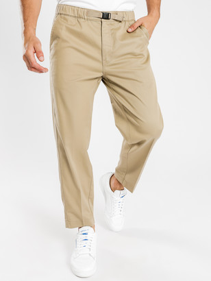 Levi's Pull On Crop Loose Taper Chino Pants in Sand