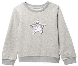 Sovereign Code Mila Sequin Sweatshirt (Toddler & Little Girls)