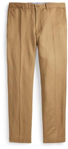 Ralph Lauren Straight Fit Linen-Blend Trouser