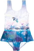 Stella McCartney dolphin print swimsuit - kids - Polyamide/Polyester/Spandex/Elastane - 4 yrs
