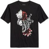 GUESS Men's Floral Clash Graphic-Print T-Shirt