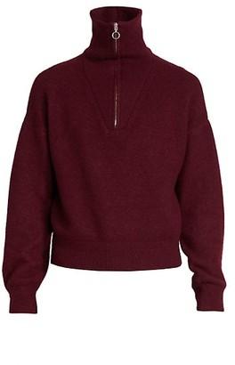Isabel Marant Percy Quarter Zip Sweater