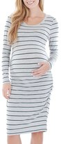 Everly Grey Women's 'Hanh' Maternity T-Shirt Dress