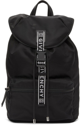 Givenchy Black 4G Packaway Backpack