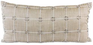 Pyar&Co Uma 14x30 Lumbar Pillow - Gold Linen - Pyar & Co