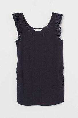 H&M MAMA Ribbed Tank Top