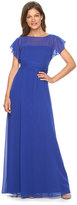 Chaps Chiffon Evening Gown - Women's