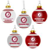 NCAA Forever Collectibles 5 Pack Shatterproof Ball Ornaments