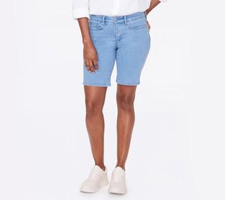 "NYDJ Ella 9"" Shorts with Side-Seam Slits"