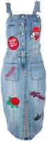 Philipp Plein Velyne denim dress - women - Cotton/Polyester/Spandex/Elastane - L