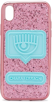 Chiara Ferragni glitter Iphone XR case