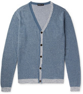 Etro Cotton and Cashmere-Blend Cardigan