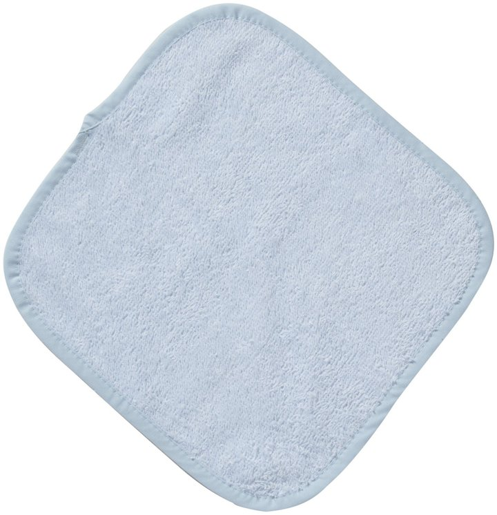 American Baby Company Hooded Towel & Washcloth Set - Blue