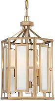 Crystorama Hillcrest 2-Light Chandelier - Vibrant Gold