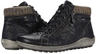 Rieker R1473 Liv 73 (Schwarz/Graphit) Women's Pull-on Boots