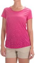 Columbia Ocean Fade T-Shirt - Scoop Neck, Short Sleeve (For Women)