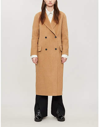 Sandro Double-breasted wool coat