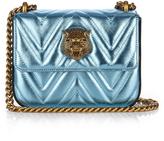 Gucci Broadway metallic-leather shoulder bag