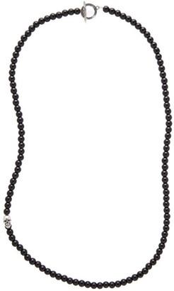 Degs & Sal Onyx Bead Necklace