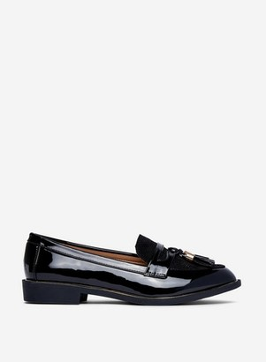 Dorothy Perkins Womens Wide Fit Black 'Landmark' Loafers, Black