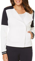 Rafaella Textured Contrast Jacket