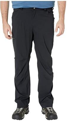 Columbia Big Tall Silver Ridgetm II Stretch Pants (Black) Men's Casual Pants