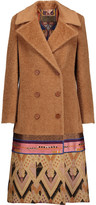 Etro Embellished alpaca and wool-blend coat