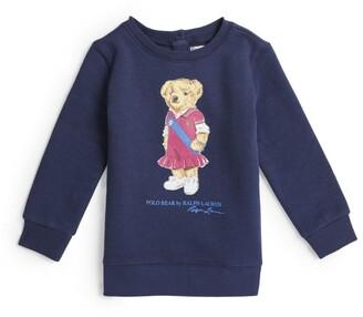 Ralph Lauren Kids Polo Bear Sweater (9-24 Months)