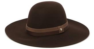 Helen Kaminski Cameo Genuine Beaver Fur Wide Brim Hat