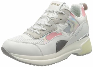 Replay Women's Comet-Script Low-Top Sneakers