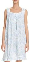 Eileen West Knit Sleeveless Short Gown