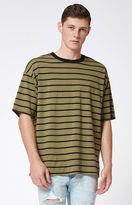 PacSun Simon Striped Relaxed T-Shirt