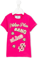 Philipp Plein Bang T-shirt - kids - Cotton/Spandex/Elastane - 4 yrs