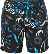 Fendi floral print swim shorts - men - Spandex/Elastane/Polyimide - 48
