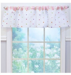 3 Stories Trading Nurture Confetti Window Valance