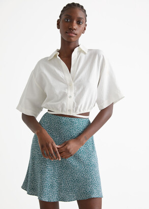 And other stories Satin Mini Skirt