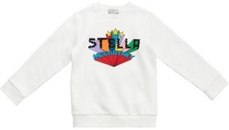 Stella Mccartney Kids Star Logo Sweatshirt (4-14 Years)