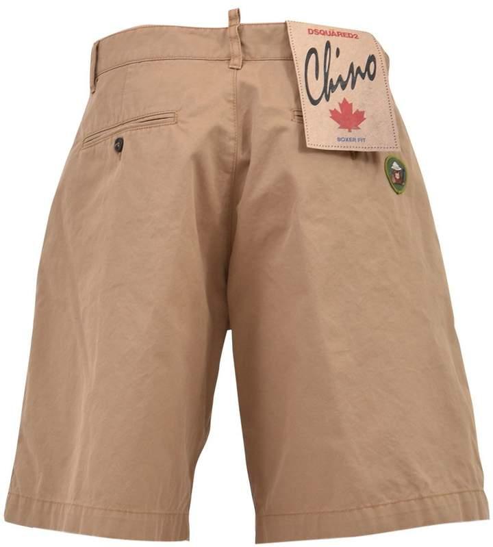 DSQUARED2 Chino Shorts Cotton