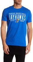 Original Retro Brand Kansas Jayhawks Basketball Tee