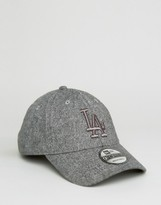 New Era 9forty Adjustable Cap La Dodgers In Tweed