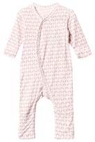 Hust&Claire Pink Printed Bamboo Onesie