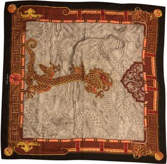 Cartier Black Silk Silk handkerchief