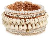Panacea Beaded Rope Cuff Bracelet