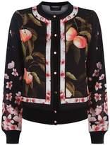Ted Baker Flisity Floral Bomber Jacket