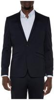STUDIO W Stretch Cotton Suit Jacket