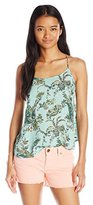 O'Neill Women's Lime Woven Printed Tank