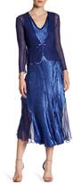 Komarov Midi Dress & Shaped Jacket 2-Piece Set